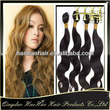 100% real human unprocessed dyeable single drawn remy mexican hair virgin extension