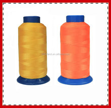 polyester continuous filament sewing thread