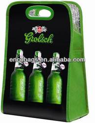 China cooler bag manufacturer, six bottle beer bag cooler