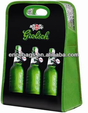 manufacturer pack beer bottles six bottles cooler bag beer