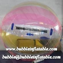 Crazy and interesting inflatable water walking ball game, inflatable water zorb ball
