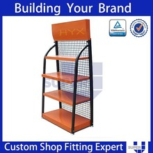 party pamphlet display stands, trade display stand shelves