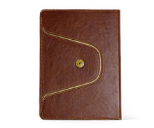 crazy horse texture case for iPad Air 2 genuine leather case cover