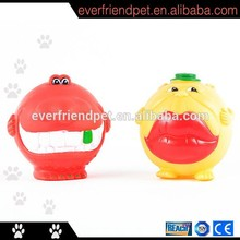 Felpa linda diseño animal de la historieta del sexo juguete del animal doméstico para perro masticar juguete