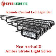 Auto Lighting System Wireless Strobe Light, 180W Curved Offroad Wireless Strobe Light