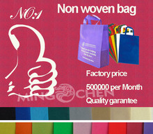 Nouveau produit de la publicité 2014 année, chine gros respectueux de l'environnement de mode sac non tissé, sacs à provisions
