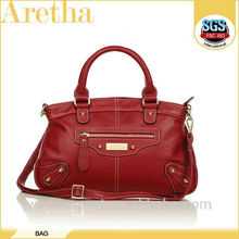 Italian style fashion latest calf leather bags for women