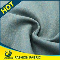 Most popular Custom Elegant double faced wool fabric