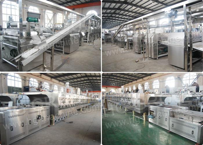 Facile de programmation de la machine industrielle Oreo biscuit ligne de production / biscuit ligne de production de prix / gaufrette ligne de production