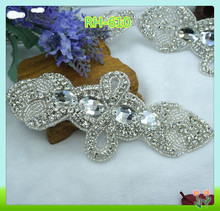 Hot sale wholesale rhinestone applique for garter