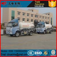 6000Liters Vacuum Sewage Suction Truck