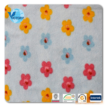 100% Polyester Micro Printid Anti pilling Polar Fleece Fabric for Blanket,Garment,etc