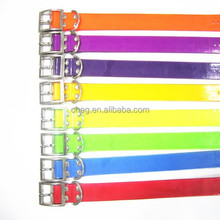 pet products colorful dirty resistant tpu collar for pet