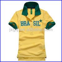 China wholesale unisex custom 100% cotton polo t-shirt men polo t-shirt