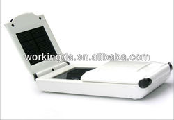 2.5W portable Universal Solar Emergency Battery Charger for laptop and mobile phone charger with multi voltage