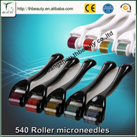 Stainless steel Cellulite Reduction function electric Microneedles roller