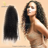 Large Stock Top Quality Shedding Free No Tangle Unprocessed Full Cuticle short hair brazilian curly weave