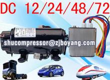 Tipo elettrico compressore 12v 24v dc per energia elettrica fonte e sul tetto tipo condizionatori d'aria centrale