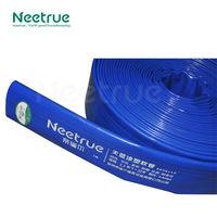 pvc irrigation flexible blue plastic water pipe