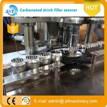 carbonated beverage canning machine/ soft drink canning line 1000 cans /hour