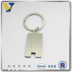 Custom sports medal fiat car logo keychain