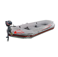 hovercraft inflatable boat for sale/Inflatable Boat Set with aluminum Oars and Air Pump/fish inflatable boat BSD233