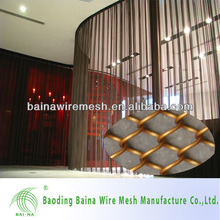 2015 alibaba china high grade chain link wire mesh for decoration metal curtain,room divider