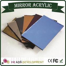 Factory Price High Quality distorting mirror hinged mirror closet doors