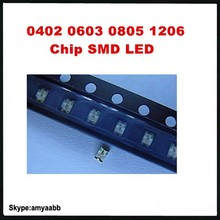 0402 0603 0805 1206 Chip SMD LED , and also privide BOM List quotation