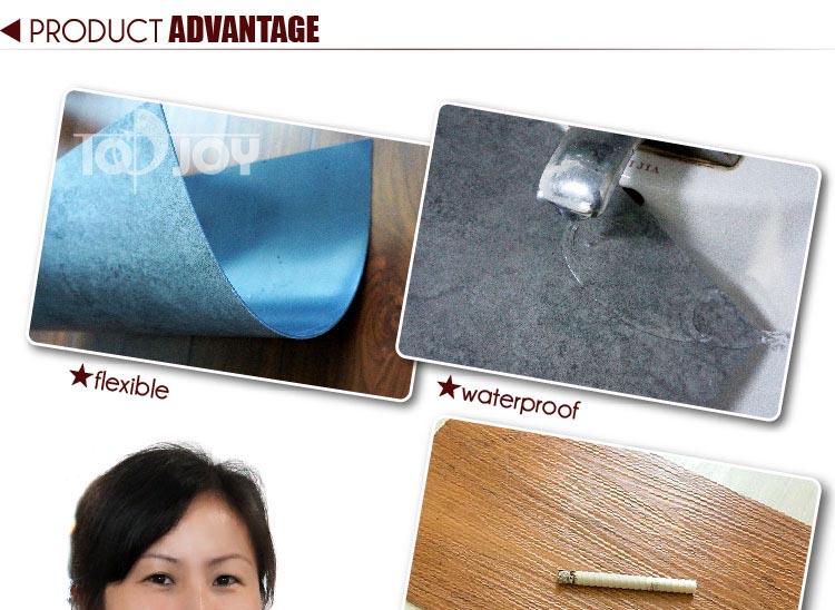 Anti-slip Luxury Vinyl Tile/LVT Flooring