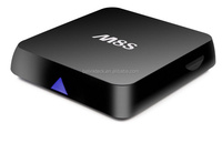 Cheapest Wholesale price android 4.4 android tv box M8S quad core webcam with skype