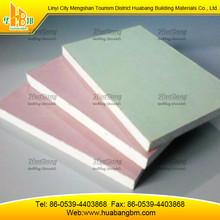 Gypsum board standard size with 2400x1200
