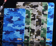 Camouflage Design Stand Protective Case For Ipad Mini 3 Cover Case
