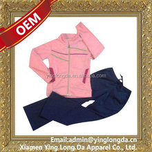 Super quality best sell women plus size jogging suits with hood
