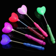 2015 colorful hot sale glow stick for kids ,high quality LED glow in the dark stick for promotion gift