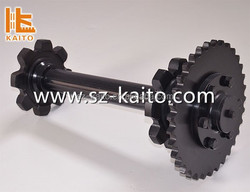 China Supplier Precise Worm Gear Shaft/transporting shaft for Asphalt Finisher