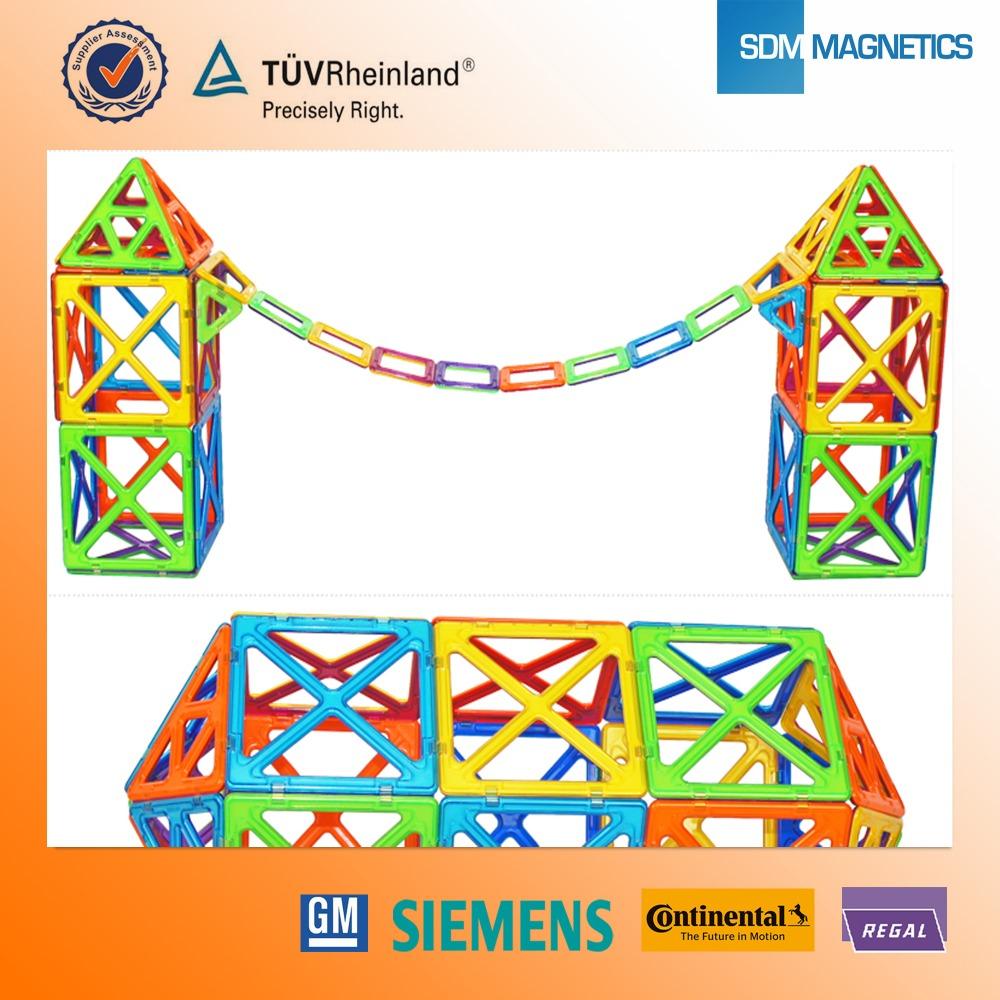 Sdm nouvelle arrivée plastique ABS magformers jouets avec différentes couleurs