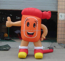 inflatable cartoon characters/inflatable advertising models