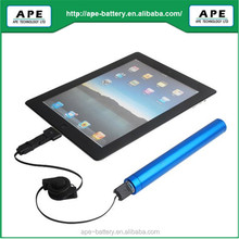 portable rechargeable li-ion battery case for iPhone/iPad/Blackberry/HTC/Nokia/GPS/PSP/Notebook etc.