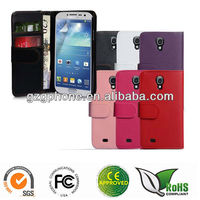 Pocket flip leather case for samsung galaxy S4