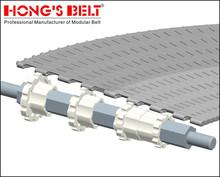 Flat top HS-2000A ,modular belt for plate turning conveyor supplier