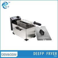 3.5L Electric Big Basket Fish And Chips Fryers
