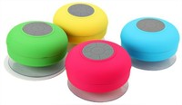 new arrival mini Portable Subwoofer Shower Waterproof Wireless Bluetooth Speaker Call Music Suction Phone Mic For smartphone