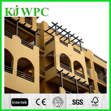 Waterproof WPC type wood plastic composite factory direct sale wall siding/cladding/waterproof wood plastic composite