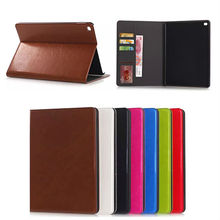 Crazy horse wallet leather case for Apple ipad air2