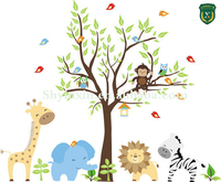 Cartoon sticker printing/Durable 3M cartoon sticker/cartoon sticker