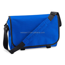 Long strap men's shoulder bag vintage school messenger bag