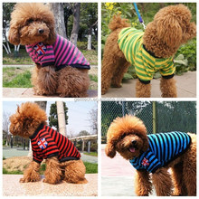 Novel Designs Small and England Nation Flag Stripe Pet Dog Clothes Puppy Costume