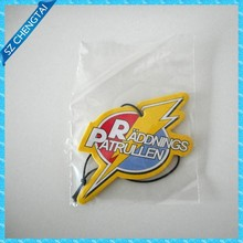 Custom paper car air freshener with scents