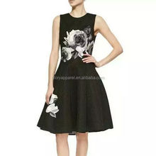 The new spring and summer 2015 slim waist skirt dress brand and stamp